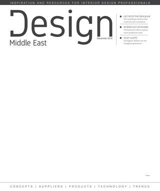 Design Middle East December 2016