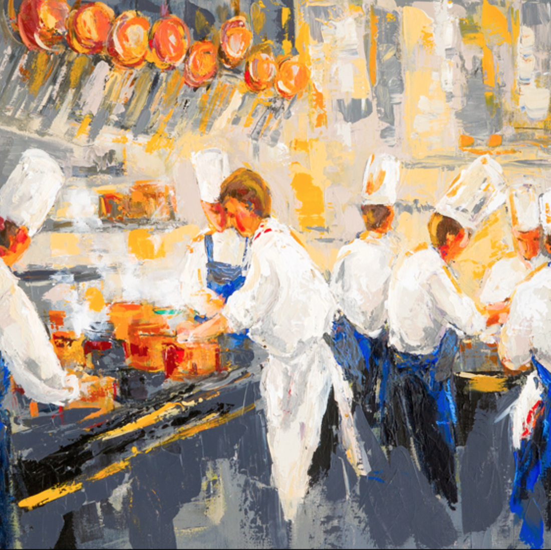 painter to cook up a storm at new french restaurant