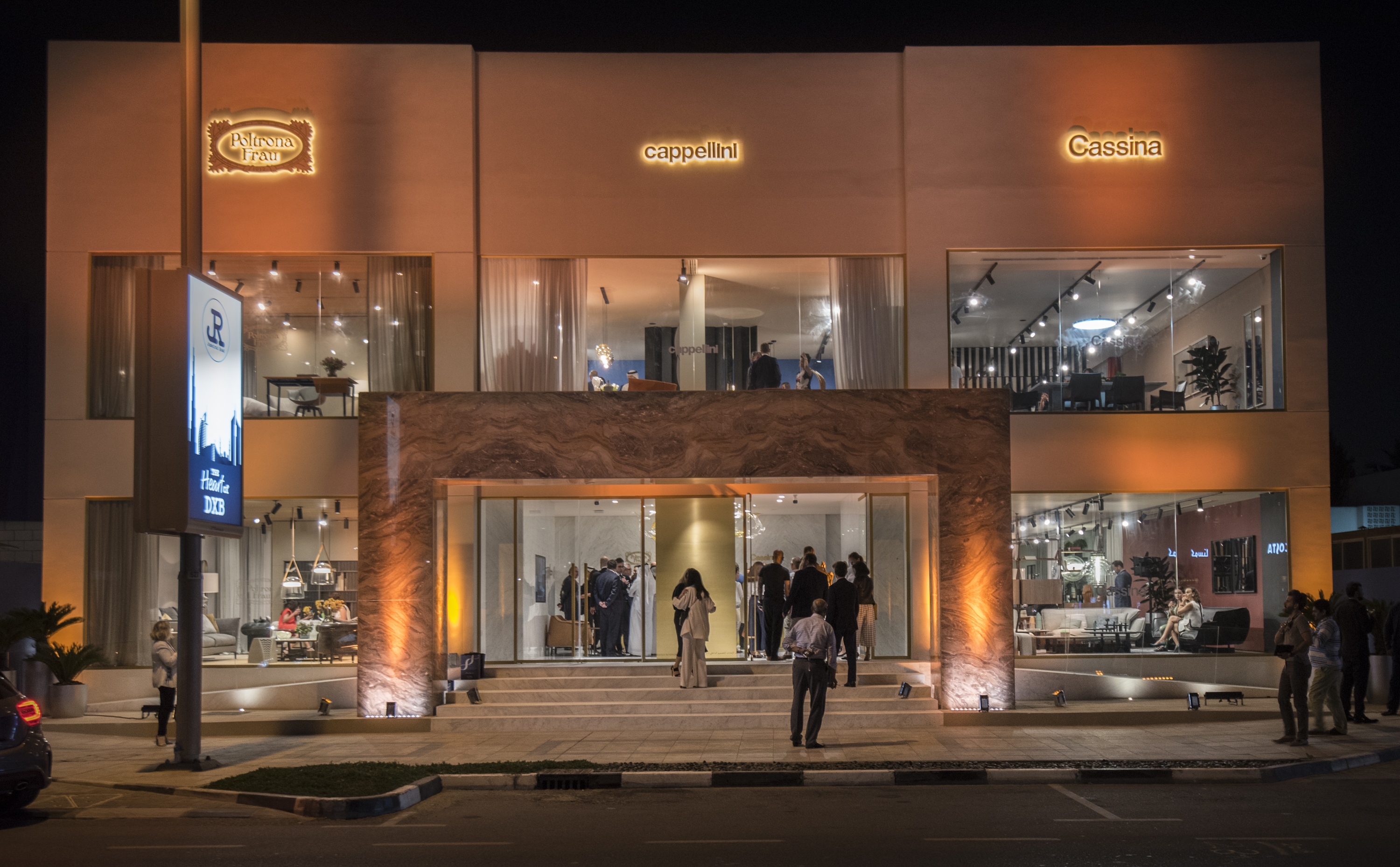 Poltrona Frau Group opens a new store in Dubai - Design Middle East