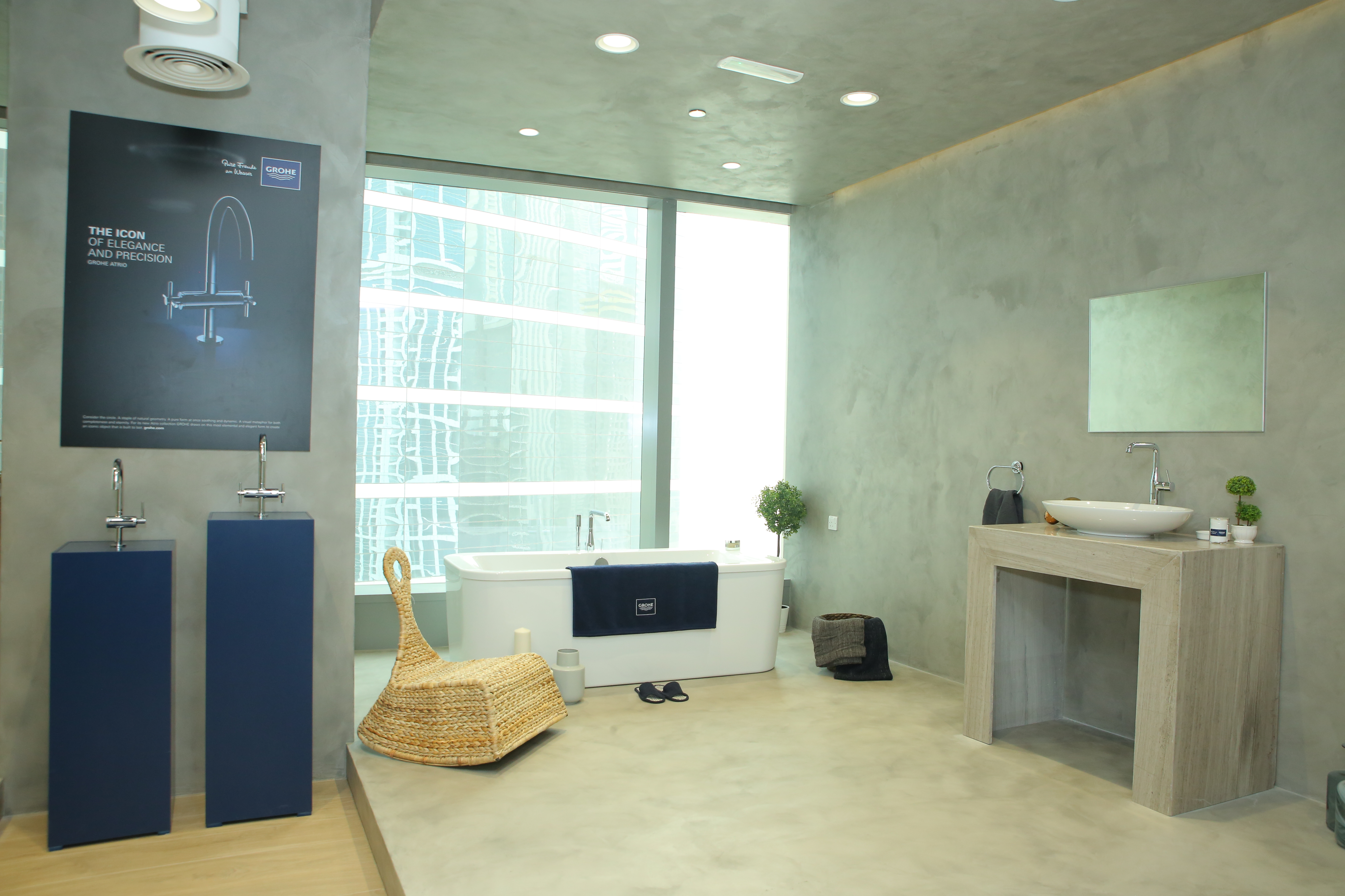 GROHE opens first showroom in Dubai - Design Middle East