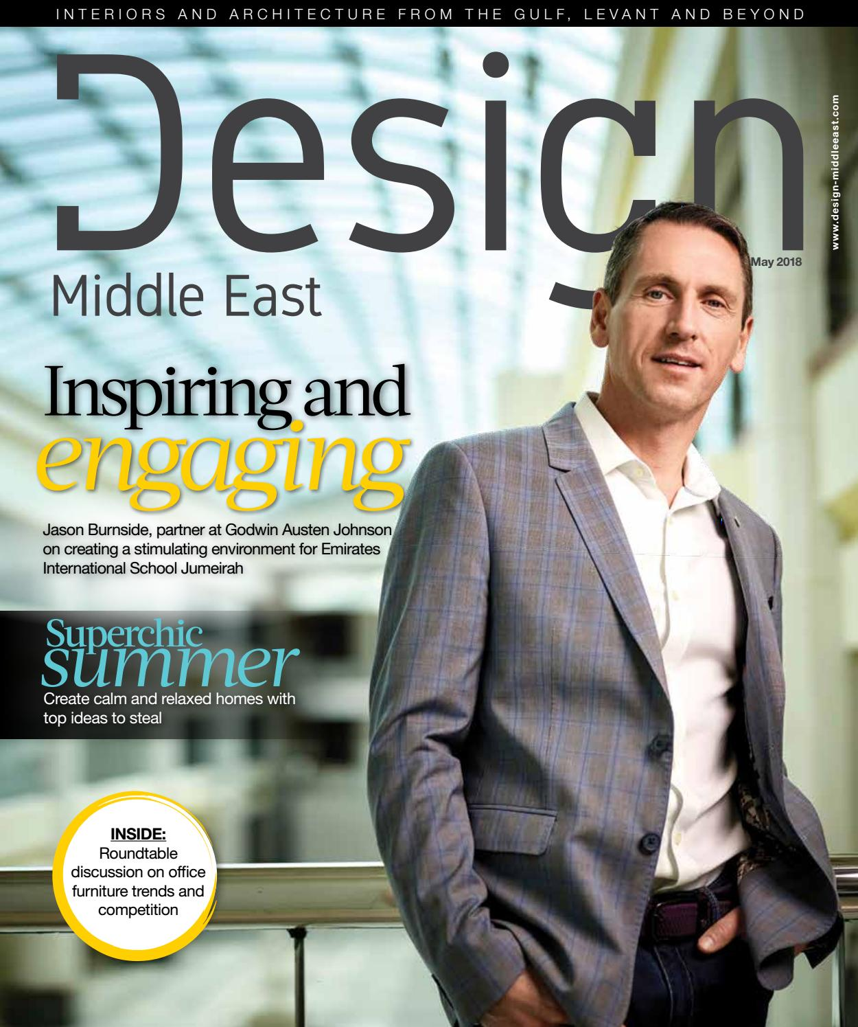 Design Middle East May 2018
