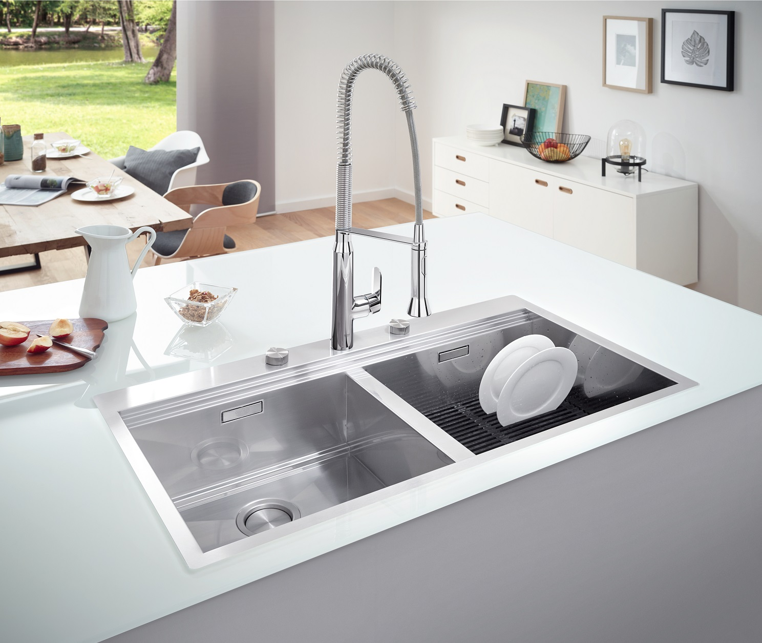 Exceptionnel With Its Unique And High Quality Kitchen Sinks Range, GROHE, The Worldu0027s  Leading Provider Of Sanitary Fittings, Now Sets New Standards, Making Every  Use Of ...