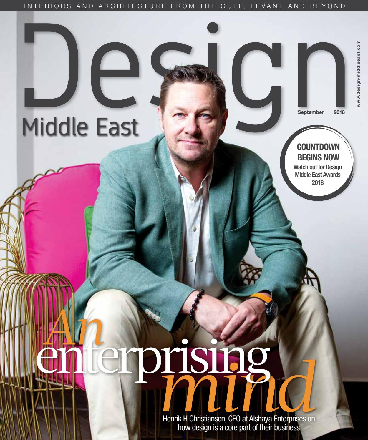 Design Middle East September 2018