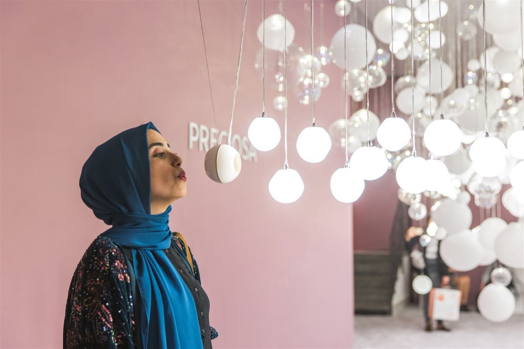 Breath of light to make its middle east debut at the downtown design