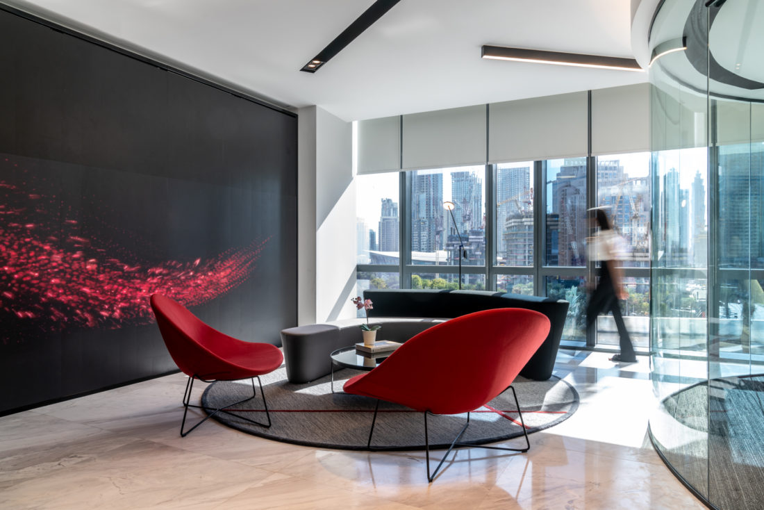 Roar creates a flexible workspace for Evoteq - Design Middle East