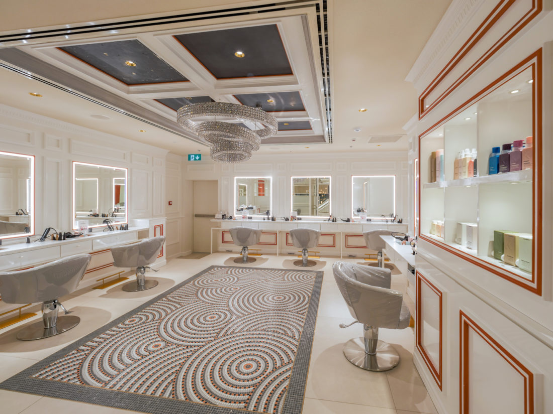 Outstanding Gdm Interiors Gives An Understated Elegance To The Nail Spa Home Interior And Landscaping Ologienasavecom