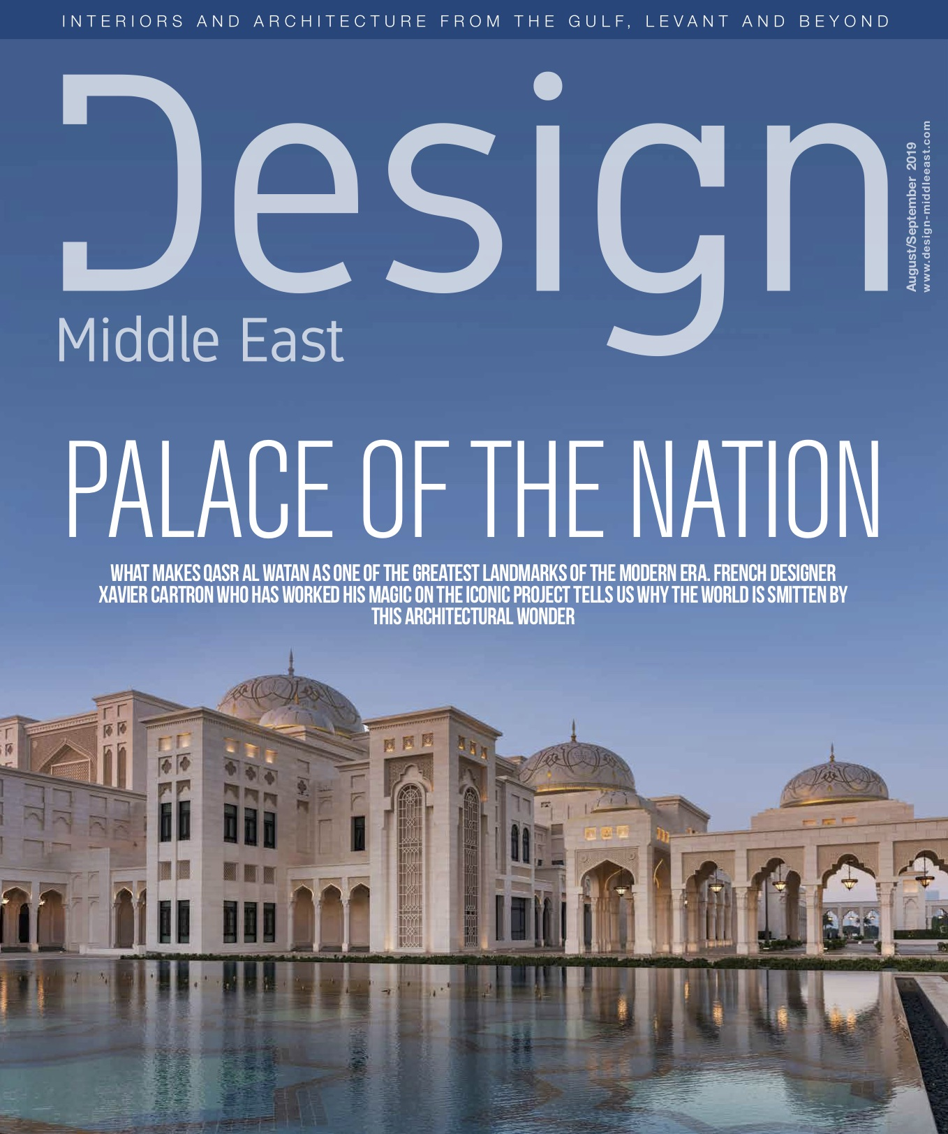 Design Middle East Aug/Sept 2019 issue