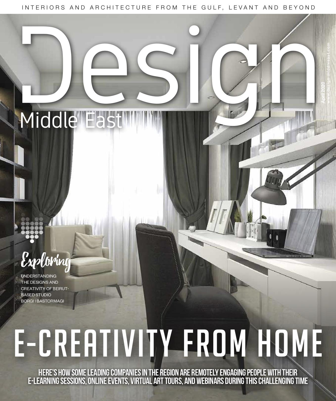 Design Middle East April 2020
