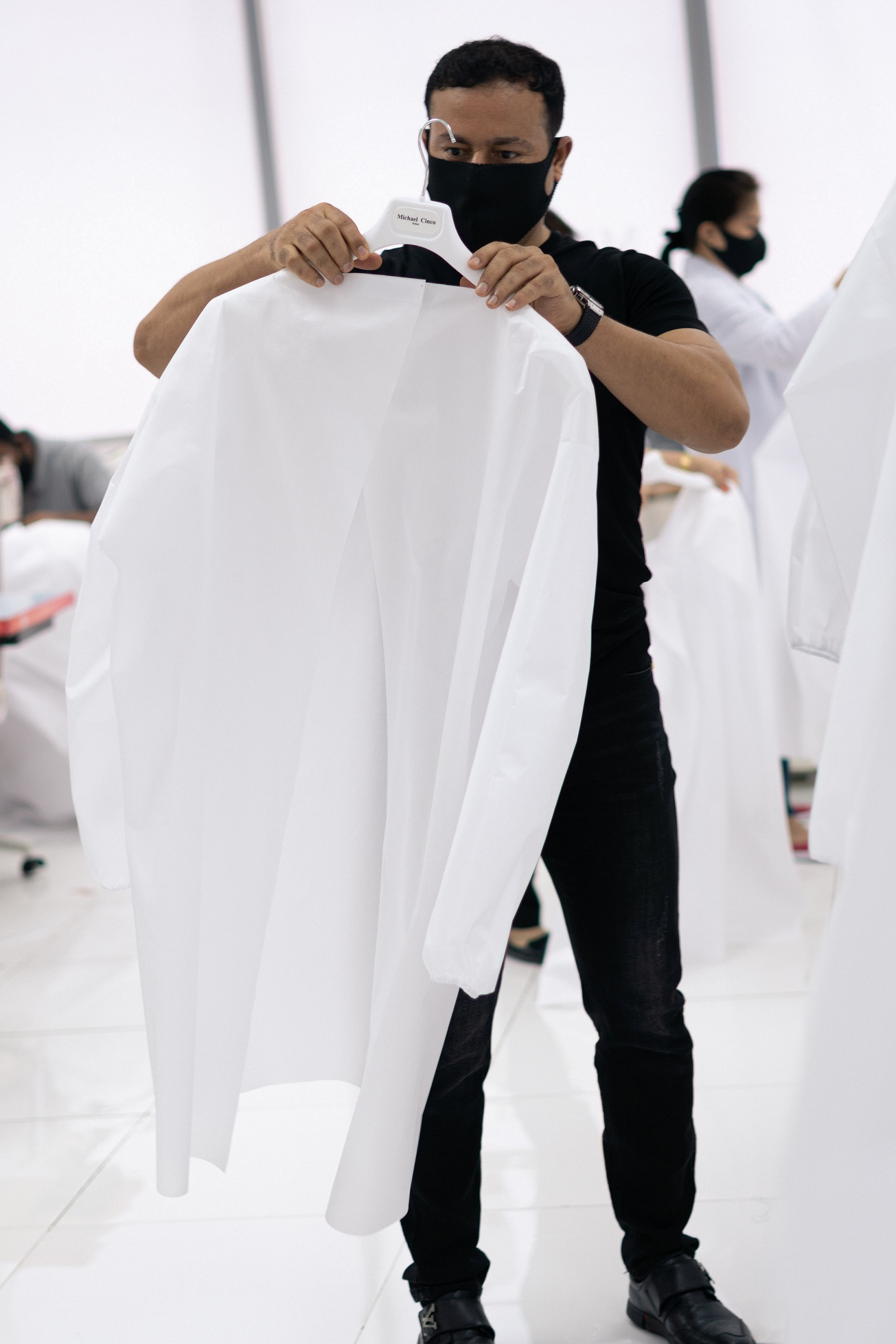 Seven Designers From D3 Join The Initiative To Produce Medical Clothing For Frontline Workers Design Middle East